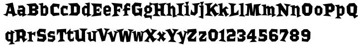 Bordello Font Sample