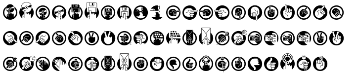 Pic Format Font Sample