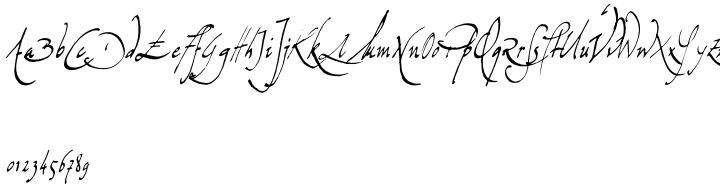 Missiva Font Sample
