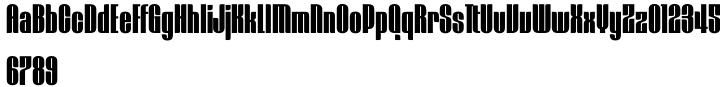 Mercano Empire Font Sample