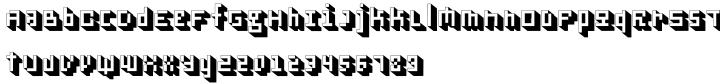 Cubage Font Sample