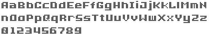 Doublepoint Font Sample