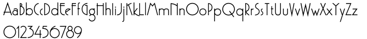 Kaptiva Font Sample