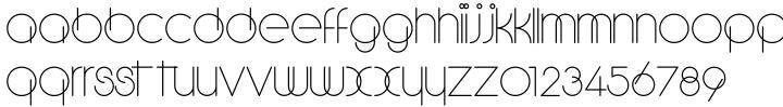 Soraya Font Sample