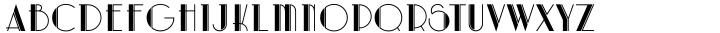 Artdeco Font Sample