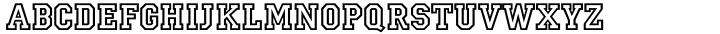 Campus Font Sample