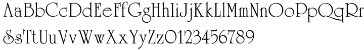 Celtic Font Sample