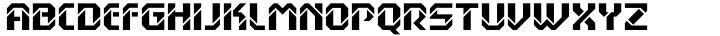 Hansson Stencil Font Sample