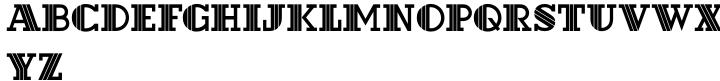 Hotel Font Sample