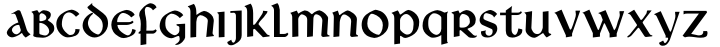 Libra Font Sample