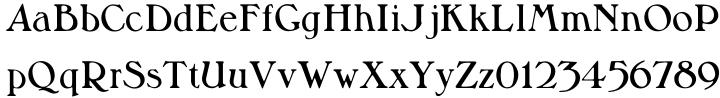 Milton Font Sample