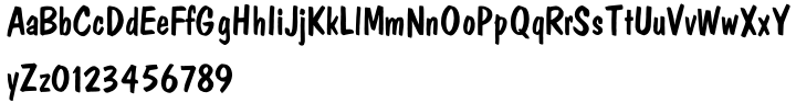 Polka Font Sample