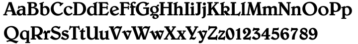 Belwe SB™ Font Sample