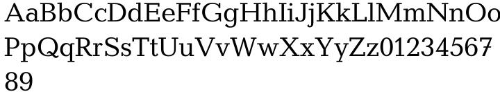 Candida® SB Font Sample