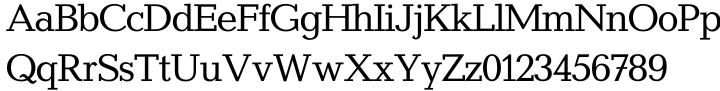 Candida® SH Font Sample
