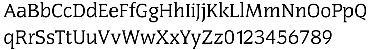Congress SB™ Font Sample