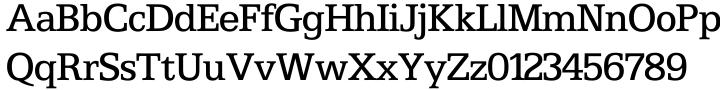 Egyptian 505 SH™ Font Sample