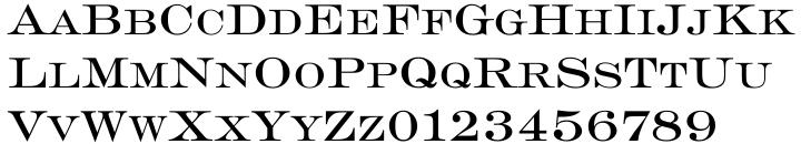 Engravers SB™ Font Sample