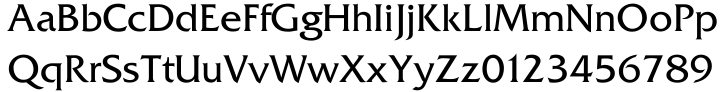 Friz Quadrata SB™ Font Sample
