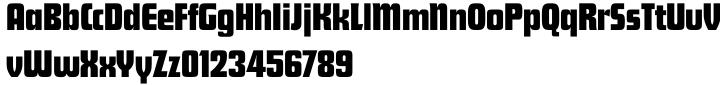 Futura® Display SB Font Sample