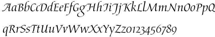 Arioso™ Font Sample