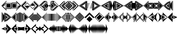 Polytype Arrowtek Font Sample