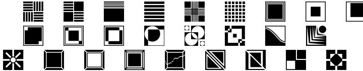 Polytype Art Deco Font Sample