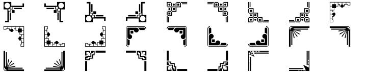 Polytype Corners Font Sample