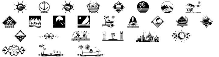 Polytype Leisure Font Sample