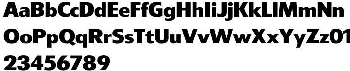 Swank Gothic Font Sample