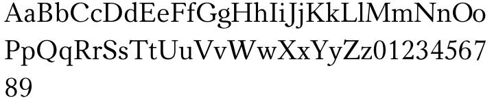 Carniola™ Font Sample