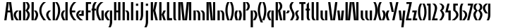 Alpha Charlie Font Sample