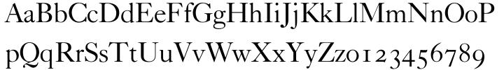 Caslon Classico™ Font Sample