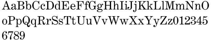 Century Expanded® Font Sample