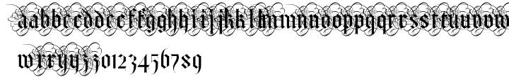 Albo Font Sample