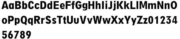Digi Grotesk™ Font Sample