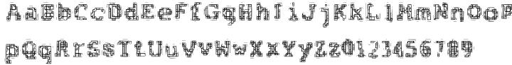 F2F Al Retto™ Font Sample