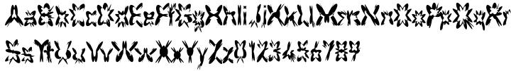 F2F HogRoach™ Font Sample