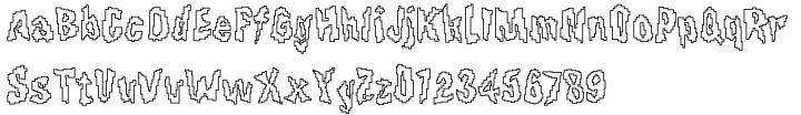 F2F Pixmix™ Font Sample