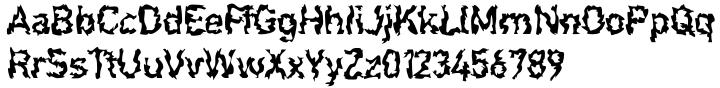F2F Shakkarakk™ Font Sample