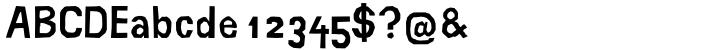 Buchsztaby™ Font Sample