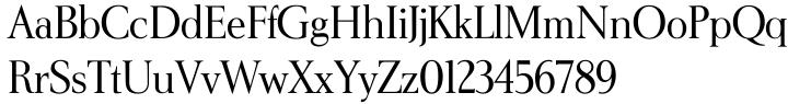 Elegante Font Sample