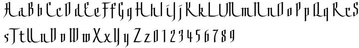 Grace™ Font Sample
