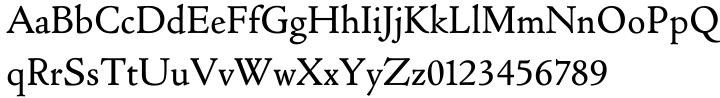 Cloister Old Style EF™ Font Sample