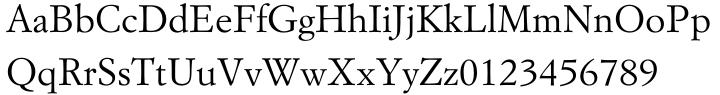 Garamond Simoncini EF™ Font Sample