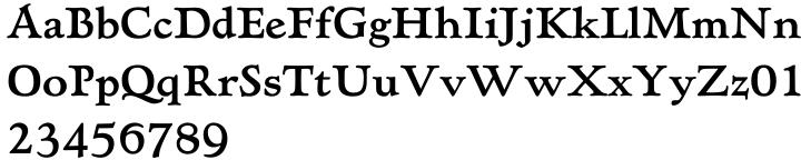 Hadriano™ Font Sample