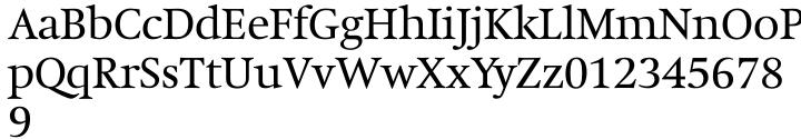 Hollander™ Font Sample