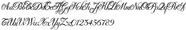 Donna Bodoni Font Sample