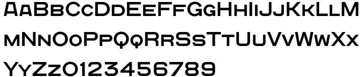 Quadrat Grotesk New Font Sample