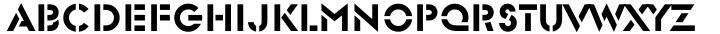 Glaser Stencil™ Font Sample